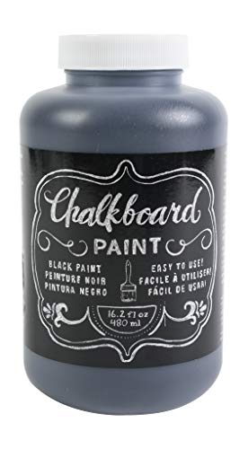 DIY Shop Chalkboard Paint by American Crafts | 16.2 ounces, Black (366867)
