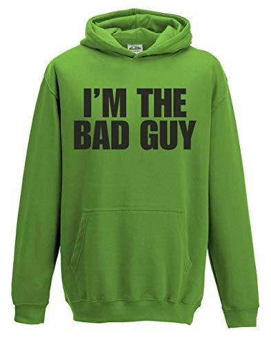 Sherbet Dip I'm The Bad Guy DUH Kinder Kapuzenpullover Gr. 7-8 Jahre, grün