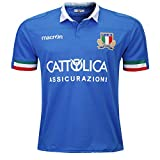 YHANS Rugby Maillot 2019-2020 Coupe du Monde Italie Domicile Hommes Summer Sports Loisirs T-Shirts Respirant Maillot De Football(S-3XL),M