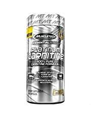 Muscletech Platinum - Carnitine - Unflavored - 180 Capsules