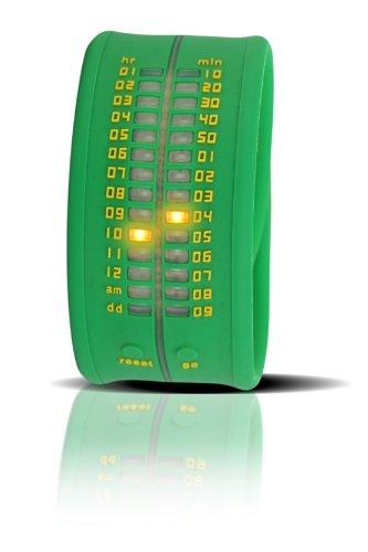 Time-IT Reloj Analog para Unisex de Quartz con Correa en Silicone Zero A6