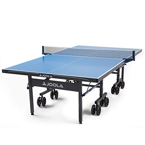 JOOLA NOVA Plus Pro Table Tennis Table with Waterproof Net Set | All Weather Aluminum Composite Ping Pong Table for Tournament Quality Play | Indoor & Outdoor Compatible | 10 Minute Easy Assembly