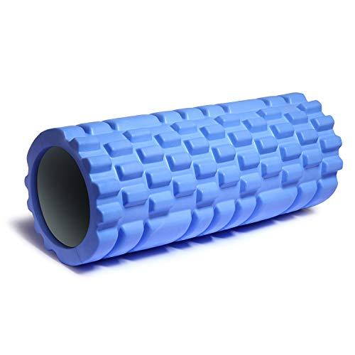 Faszienrolle - Fitness Schaumstoffrolle Sport Massagerolle für Faszientraining von Rücken Wirbelsäule Nacken & Massage,Foam Roller zur Triggerpunkt-Selbstmassage ,fördert Durchblutung & Regeneration