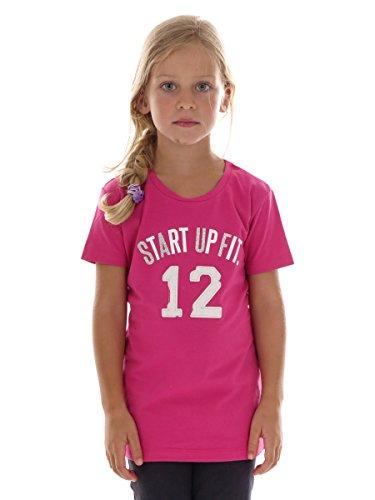 CMP T-Shirt pour Fille 8-9 Ans Rose