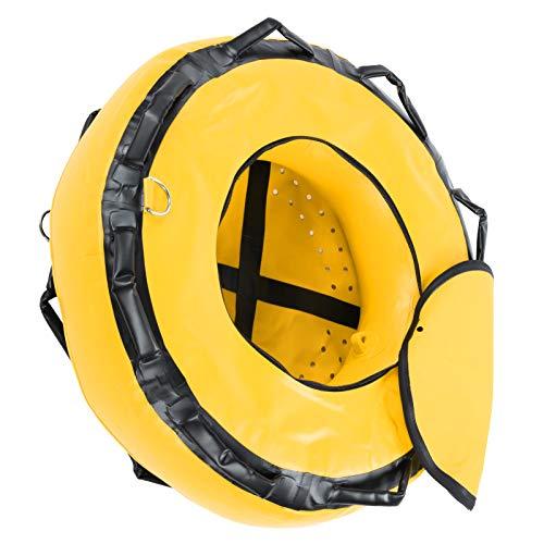 Weiyiroty Flotabilidad de Seguridad, boya de Buceo Libre, boya de Flotador de Buceo para Trabajo Pesado para señalización de Superficie de Buceo, Deportes acuáticos de Buceo(Yellow)