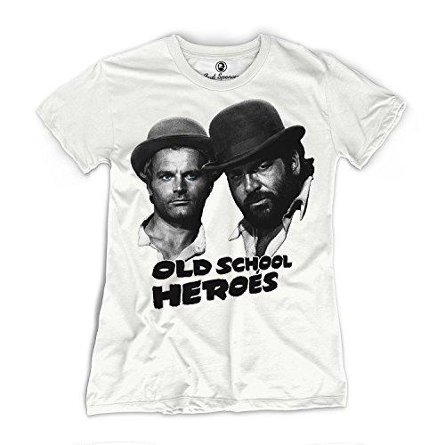 Bud Spencer - Girls - Old School Heroes - T-Shirt (Damen) (XL)