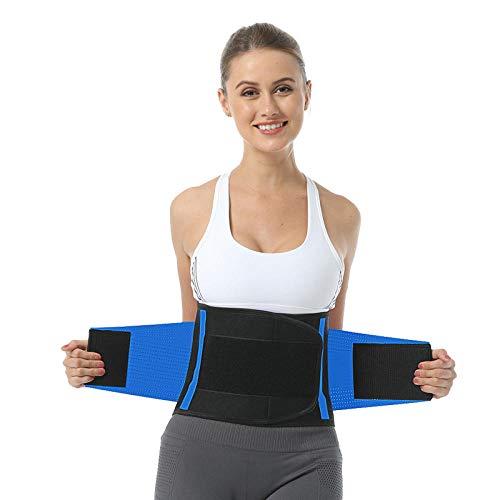 Amazon bron van sport sport riem lopen zweet sport taille riem ondersteuning decompressie taille riem sport