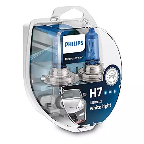 Philips Diamond Vision H7 5000k potenziamento lampadine fari