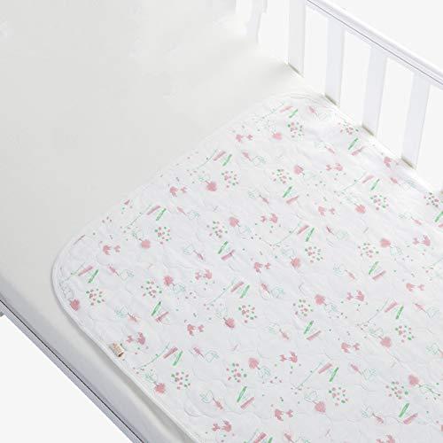 GESS Bebé Cuna bebé bebé Tout Pad, colchón de Gasa Suave Cuna, Material de Cuatro Capas sin Agente