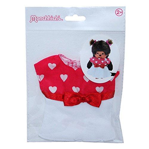 Monchhichi - Auswahl Boutique Fashion - Puppenkleidung Mode Kleidung, Style:Herzchen-Kleid
