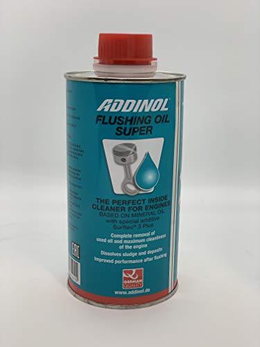 ADDINOL Flushing Oil Super, Motorspülung, Motorinnenreiniger mit Surftec 3 Plus-Technologie, für Benzin- und Dieselmotoren - Ölschlammspülung - 500 ml Dose