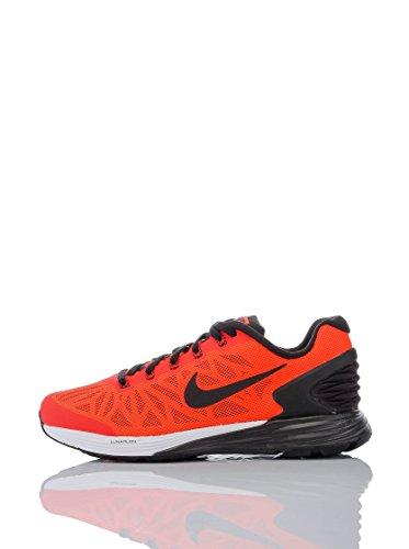 Nike Unisex-Erwachsene Lunarglide 6, rot/schwarz, 36.5 EU