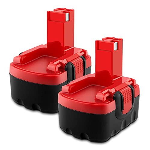 EICHXO 3500mAh 14.4V Batería para Bosch Taladro Inalambrico Destornillador GDR 14.4V GDS 14.4V GHO 14.4V PSB 14.4V PSR 14.4VE Bateria BAT159 BAT038 BAT040 BAT041 BAT140 2607335685