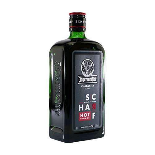 Jägermeister Scharf Hot Ginger 0,7 Liter 33% Vol.