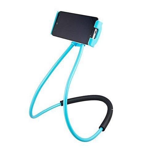 Lazy Halterung Handy Halter – Universal hängen auf Hals Lazy Handy DIY Halterung Gratis drehbar Ständer auf Tisch Smart mehrere Funktionen Handy-Halterung Ständer