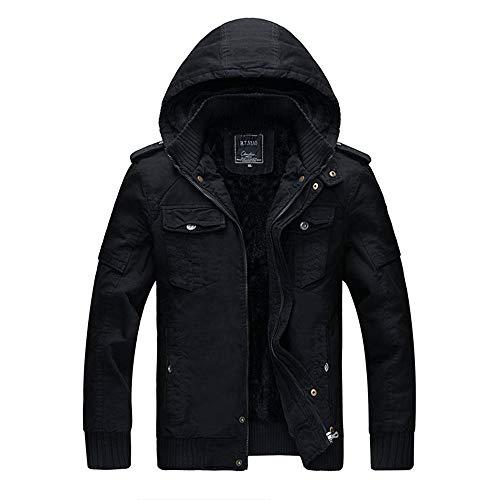 YKARITIANNA Men's 2018 New Solid Down Sports Work Wear Autumn Winter Jacket, Warm Overcoat Outwear Long Trench Zipper for Men