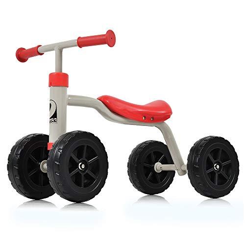 Hauck Toys for Kids Laufrad Baby Rutscher First Ride - stabiles, kippsicheres Lauflernrad für Kinder von 1-3 Jahren (Rot)