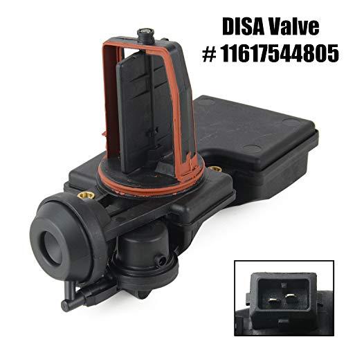 11617544805 DISA Valve Intake Manifold Flap Adjuster Unit for 2001-2006 BM-W E46 E39 E53 E60 E83 325i 325Ci 530i X3 X5 Z3 Z4 M54 M56 11617502275 UJ69014