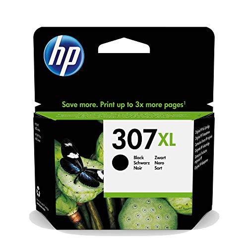 HP 307XL Schwarz Original Druckerpatrone mit extra hoher Reichweite für HP ENVY, HP ENVY Pro