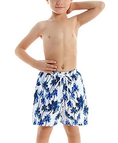 HenzWorld Traje de Baño para Padre y Bebé Traje de Baño con Estampado de Hojas Tropicales Traje de Baño a Juego con La Familia Bikini para Madre e Hija Conjunto de Dos Piezas Tamaño 2-3Y