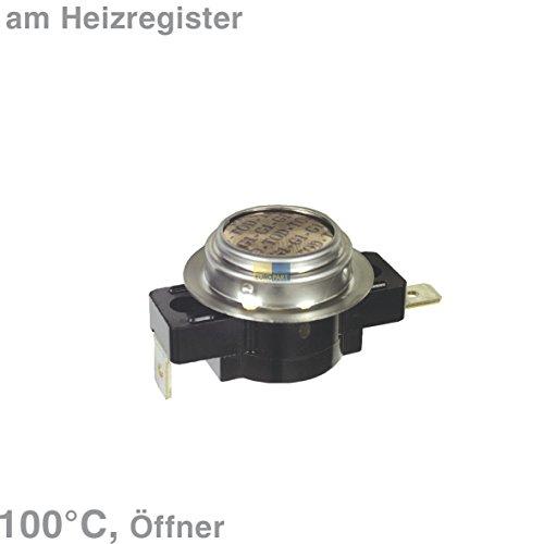 Miele 6671900 ORIGINAL Klixon Öffner 100° Temperaturbegrenzer Thermostat Sicherheitsthermostat Wäschetrockner Trockner Trocknerautomat