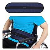 Wheelchair Seat Belt Medical Restraints Straps Patients Cares Safety Harness Chair Waist Lap Strap for Elderly (Blue)