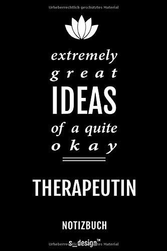 Notizbuch für Therapeuten / Therapeut / Therapeutin: Originelle Geschenk-Idee [120 Seiten weisses blanko Papier]