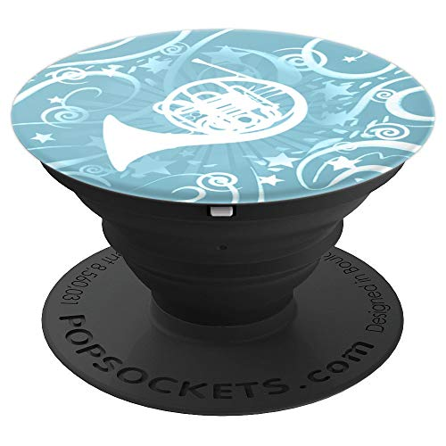 Marching Band - French Horn PopSockets Grip and Stand for Phones and Tablets