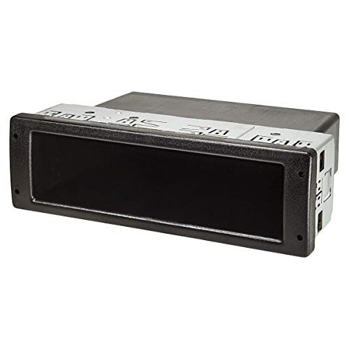 tomzz Audio 2400-003 Profi DIN ISO Ablagefach Schacht mit Metallkäfig, extrem stabil