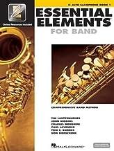 Essential Elements with EEi: Eb Alto Saxophone, Book 1 (Bk/Online Audio/Video): Comprehensive Band Method