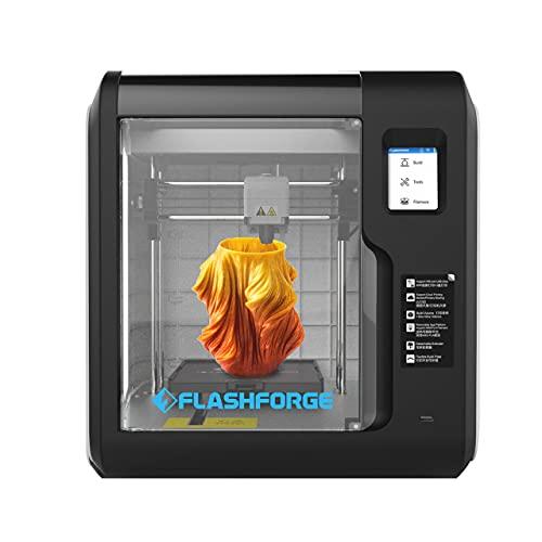 Impresora 3D Flashforge Adventurer 3 con boquilla extraíble rápida, nivelación automática y alta precisión, volumen de construcción 5.91 x 5.91 x 5.91 pulgadas (AD3)