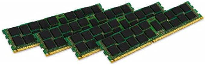 Kingston Technology ValueRAM 16GB Kit (4x4GB Moudules) 1600MHz DDR3 PC3-12800 ECC Reg CL11 DIMM SR x4 Server and Motherboard Memory KVR16R11S4K4/16