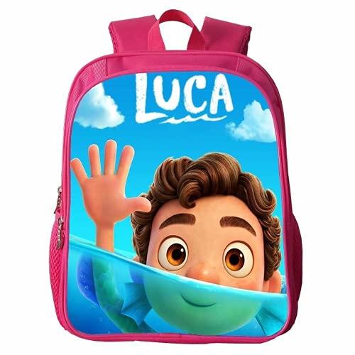 Luca Mochilas escolares Luca Bolsas de almuerzo Bolsas de Estudiante Bolsos de hombro para niños Luca, 7 (Reino Unido), luca pink,