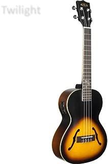 Kala KA-JTE/2TS Archtop Acoustic-Electric Tenor Ukulele with EQ - 2-Tone Sunburst