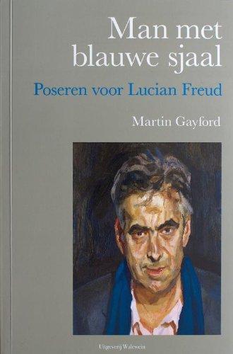Man met blauwe sjaal: poseren voor Lucian Freud