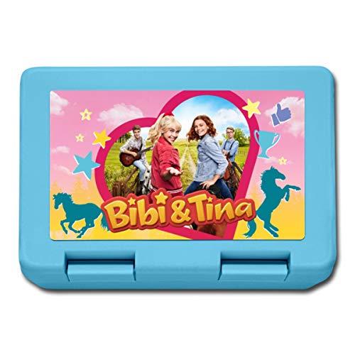 Bibi & Tina Die Serie Freunde Auf Dem Reiterhof Lunchbox, Saphirblau