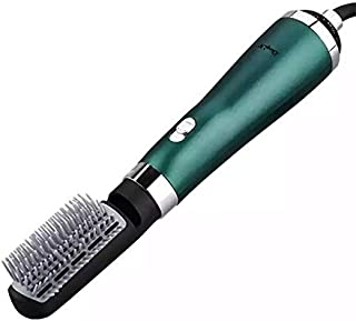 Ckeyin 3 In 1 Hair Dryer Hot Air Styler Brush Volumizer Salon Negative Ions Hair Straightener Curler Comb Roller Blow Drye...