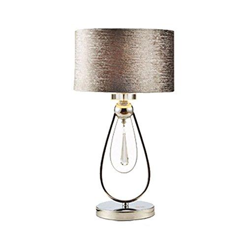 Moderna lampada europea da tavolo dimmerabile in cristallo europeo semplificato