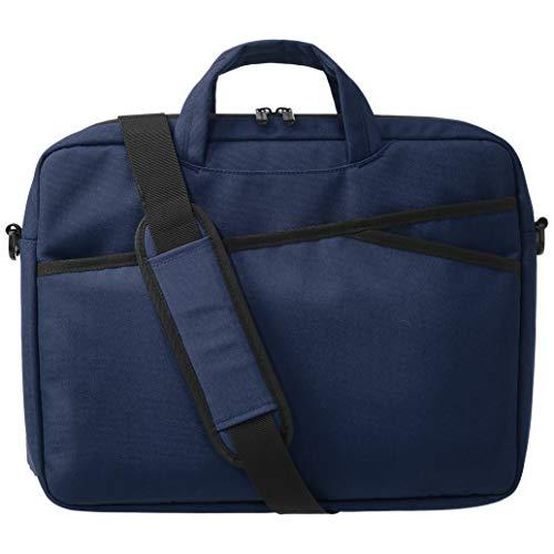 Amazon Basics – Businesstasche für Laptop, 38 cm, marineblau