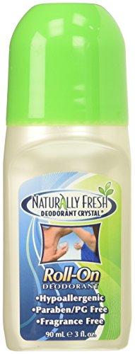 Naturally Fresh Crystal Roll-On Deodorant, 3 Fl Oz (2 Pack)