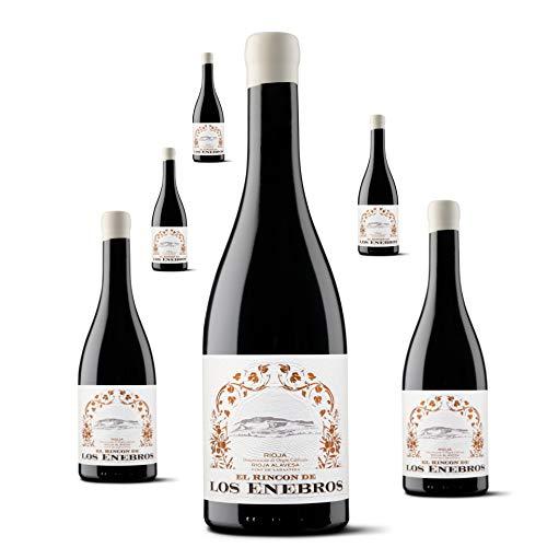 3 botellas de El Rincón de los ENEBROS 75 cl. Vino Tinto Rioja Alavesa