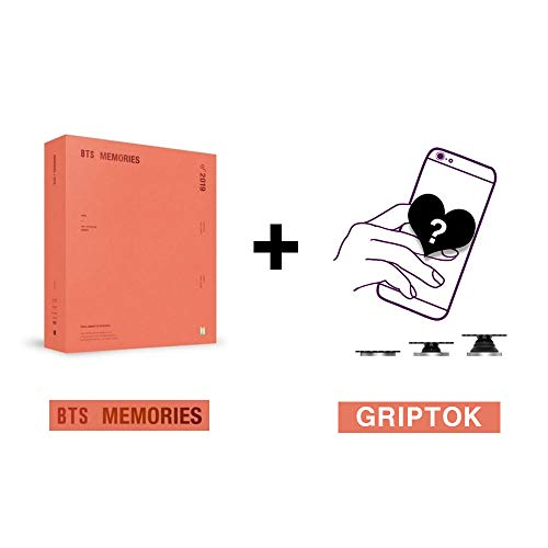 Bangtan Boys BTS Memories of 2019 (Incl. Weverse Shop Gift : BTS Memories of 2019 Photo Frame, One Random BTS Mobile Grip Holder, Random Transparent Photocards Set)
