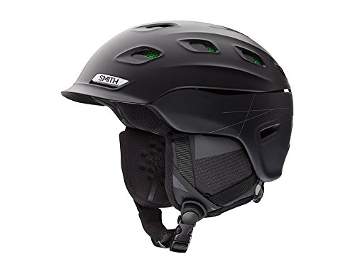Smith Optics Unisex Adult Vantage Snow Sports Helmet (Matte Black, XLarge (63-67CM))