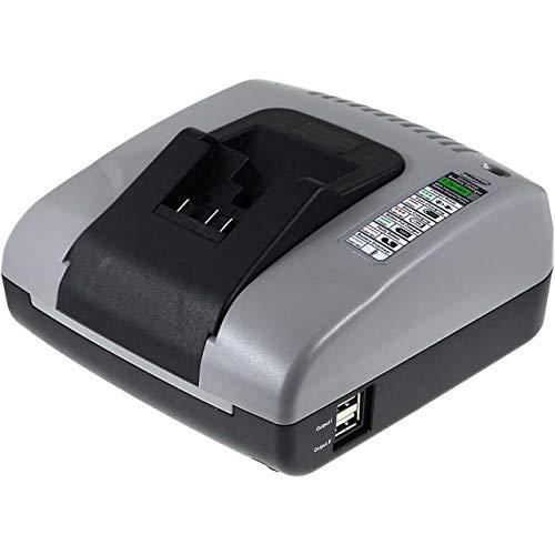 Powery Cargador de batería con USB para Dewalt SDS-Plus Martillo Combinado DCH214M2