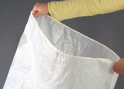 Becker Sandsäcke 40 x 60 cm aus PP-Gewebe mit Band, Hochwasserschutz, 100 Stück