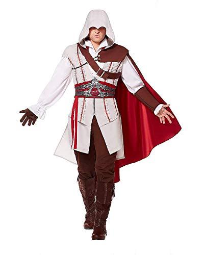 Spirit Halloween Adult Ezio Costume - Assassin's Creed, S 36-38, Brown, S 36-38, Brown