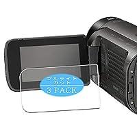 3枚 VacFun ブルーライトカット フィルム , JVC GZ-RY980HEU 向けの ブルーライトカットフィルム 保護フィルム 液晶保護フィルム(非 ガラスフィルム 強化ガラス ガラス ) ニュー