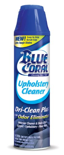 Blue Coral DC22 Upholstery Cleaner Dri-Clean Plus with Odor...