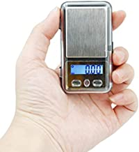 200g/0.01g Jewelry Scale High Precision Backlight Electronic Scale Mini Pocket Scale for Weighing Diamond Gold Jewelry Herb Powder Tiny Stuff