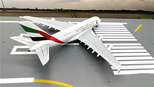 GeminiJets Emirates Airline Sheik Zayed Airbus A380 A6-EUZ 1/400 diecast Plane Model Aircraft